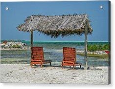 Tropical Vacation Acrylic Print