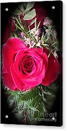 True Love Acrylic Print by Becky Lupe