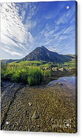 Acrylic Print featuring the photograph Tryfan Mountain by Ian Mitchell