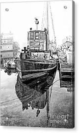 Tug Boat Acrylic Print by Hartono Tai