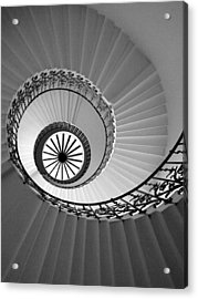 Acrylic Print featuring the digital art Tulip Staircase by Julian Perry