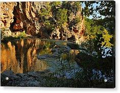 Turner Falls Area Acrylic Print by Iris Greenwell