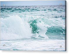 Turquoise Waters Acrylic Print by Shelby  Young