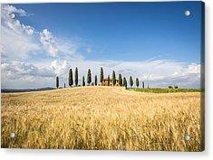 Tuscan Villa Acrylic Print