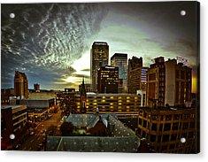 Twilight Birmingham Acrylic Print