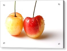 Two Rainier Cherries Acrylic Print