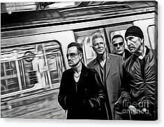 U2 Collection Acrylic Print by Marvin Blaine