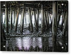 Under The Pier 2 Acrylic Print