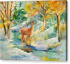 Unexpected Acrylic Print by Jane Woodward