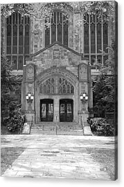 University Of Michigan Law Quad Acrylic Print by Phil Perkins