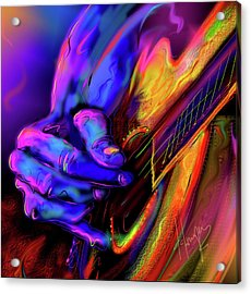 Unplugged Acrylic Print by DC Langer