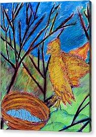 Watchful Waiting Acrylic Print by Ava Shelton