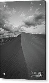 Untouched Sand Acrylic Print