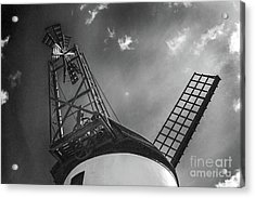 Unusual View Of Windmill - St Annes - England Acrylic Print
