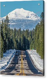 Up To The Mountain Acrylic Print