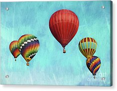 Acrylic Print featuring the photograph Up Up And Away 2 by Benanne Stiens