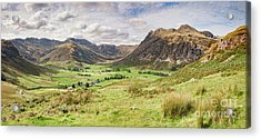 Acrylic Print featuring the photograph Upper Langdale, English Lake District by Colin and Linda McKie