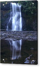 Upper North Falls Acrylic Print by Todd Kreuter