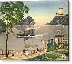 U S Mail Boat Acrylic Print