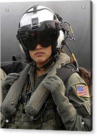 U.s. Navy Aviation Warfare Systems Acrylic Print by Stocktrek Images