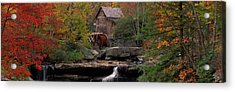 Usa, West Virginia, Glade Creek Grist Acrylic Print
