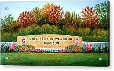 Uw Roundabout Acrylic Print