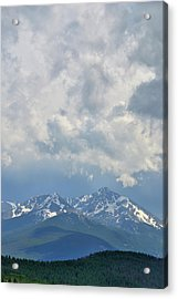 Acrylic Print featuring the photograph Vail Colorado Series 2 by Steven Richman