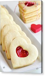 Acrylic Print featuring the photograph Valentines Day Treats by Teri Virbickis