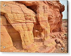 Acrylic Print featuring the photograph Valley Of Fire Wall Arches by Ray Mathis