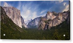 Valley View Acrylic Print by Lana Trussell