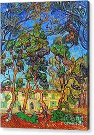 Van Gogh: Hospital, 1889 Acrylic Print