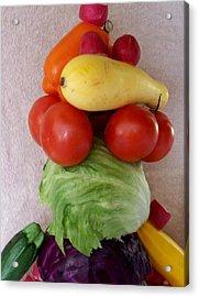 Veggie Tower Acrylic Print