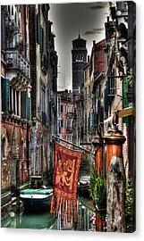 Venice Acrylic Print by Andrea Barbieri