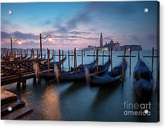 Acrylic Print featuring the photograph Venice Dawn by Brian Jannsen
