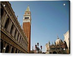 Venice Acrylic Print by Louise Fahy