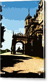 Viceregal Lodge Acrylic Print by Padamvir Singh