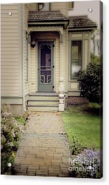 Acrylic Print featuring the photograph Victorian Porch by Jill Battaglia