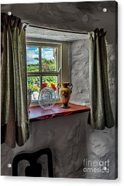 Victorian Window  Acrylic Print by Adrian Evans