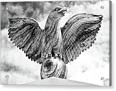 Acrylic Print featuring the photograph Victorious Eagle Of Marble by Yurix Sardinelly