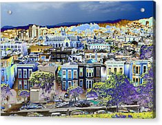 View From Alta Plaza Acrylic Print