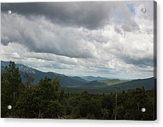 View From Mount Washington Acrylic Print by Suzanne Gaff