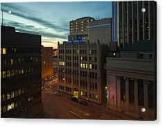 View From The Fairmont Acrylic Print by Bryan Scott