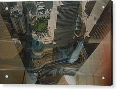 View From The W T C Acrylic Print by Rob Hans