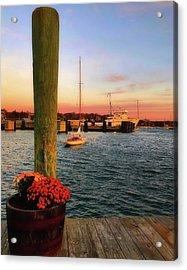 Vineyard Haven Sunrise - Martha's Vineyard Acrylic Print