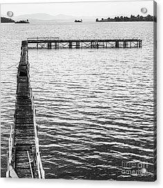 Vintage Marine Scene Acrylic Print