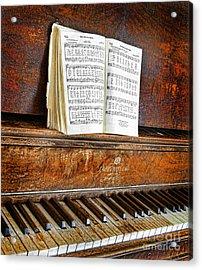Vintage Piano Acrylic Print