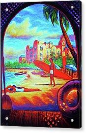 Vintage Royal Hawaiian Acrylic Print