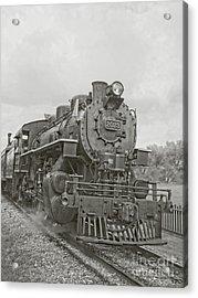 Vintage Steam Locomotive Acrylic Print