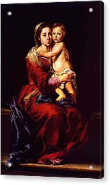 Virgin And Child Painting Acrylic Print by Christian Art