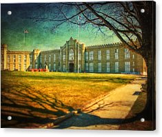 Virginia Military Institute  Acrylic Print by Kathy Jennings